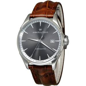 [ハミルトン]Hamilton 腕時計 Brown 40mm StainlessSteel Jazzmaster Watch H32451581 メンズ