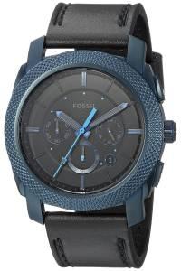 [フォッシル]Fossil 'Machine' Quartz Stainless Steel and Leather Casual Watch, FS5361