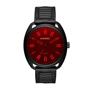 [ディーゼル]Diesel 'Fastbak' Quartz Stainless Steel and Leather Casual Watch, DZ1837