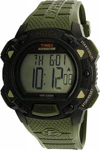 [タイメックス]Timex 腕時計 Green Polyurethane Quartz Sport Watch TW4B09300 メンズ
