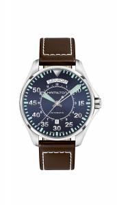 [ハミルトン]Hamilton 腕時計 Khaki Aviation Blue Watch H64615545 メンズ [並行輸入品]
