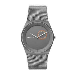 [スカーゲン]Skagen  'Havene' Quartz Titanium Casual Watch, Color:Grey SKW6416 メンズ