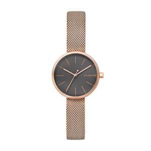 [スカーゲン]Skagen  'Signatur' Quartz Stainless Steel Casual Watch, Color:Rose SKW2645