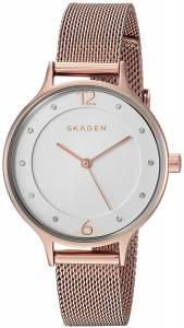 [スカーゲン]Skagen  'Anita' Quartz Stainless Steel Casual Watch, Color:Beige SKW2650