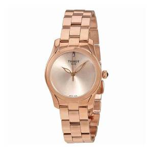 [ティソ]Tissot  Rose Gold 30mm Stainless Steel TWave II Watch T112.210.33.451.00 レディース