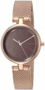 [スカーゲン]Skagen  'Signatur' Quartz Stainless Steel Casual Watch, Color:Rose SKW2640