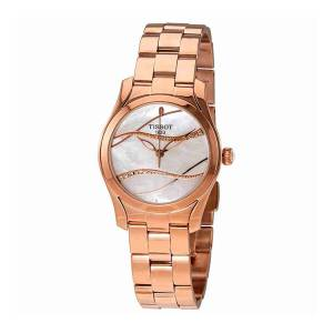 [ティソ]Tissot 腕時計 TWave Mother of Pearl Diamond Dial Watch T112.210.33.111.00