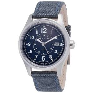 [ハミルトン]Hamilton  Silver 40mm StainlessSteel Khaki Field Auto Watch H70305193 メンズ