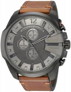 [ディーゼル]Diesel  'Mega Chief' Quartz Stainless Steel and Leather Casual Watch, DZ4463