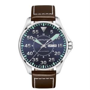 [ハミルトン]Hamilton 腕時計 KHAKI AVIATION PILOT AUTO WATCH H64715545 [並行輸入品]