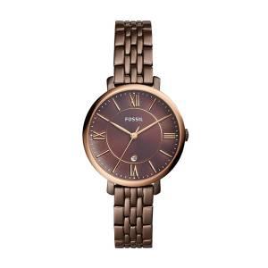 [フォッシル]Fossil  'Jacqueline' Quartz Stainless Steel Casual Watch, Color:Brown ES4275