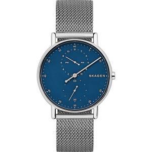 [スカーゲン]Skagen  'Signatur' Quartz Stainless Steel Casual Watch, Color:SilverToned SKW6389