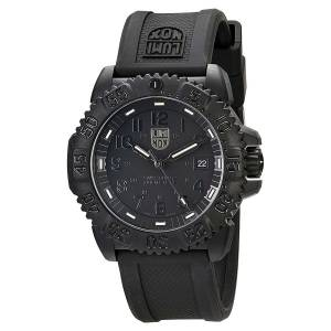 [ルミノックス]Luminox Sea Navy Seal Colormark 3050 Black Dial Dive Watch & 3051.BO.SET.1