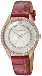 [マイケル・コース]Michael Kors  'Lauryn' Quartz Stainless Steel and Leather Casual MK2691