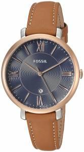 [フォッシル]Fossil  'Jacqueline' Quartz Stainless Steel and Leather Casual Watch, ES4274