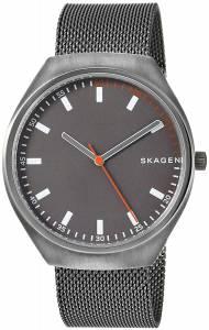 [スカーゲン]Skagen 'Grenen' Quartz Titanium and Stainless Steel Casual Watch, SKW6387