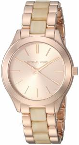 [マイケル・コース]Michael Kors  'Mini Slim Runway' Quartz Stainless Steel Casual MK3701