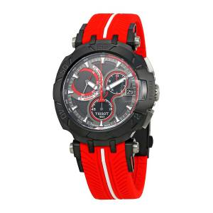 [ティソ]Tissot 腕時計 TRace Jorge Lorenzo Anthracite Dial Watch T092.417.37.061.02 メンズ