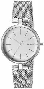 [スカーゲン]Skagen  'Signatur' Quartz Stainless Steel Casual Watch, Color:SilverToned SKW2642