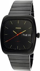 [フォッシル]Fossil  Rutherford Black StainlessSteel Quartz Fashion Watch FS5333 メンズ
