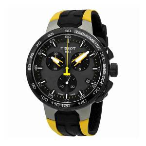 [ティソ]Tissot  T111.417.37.441.00 Watch TRace Cycling Tour de France 2017 Black T1114173744100