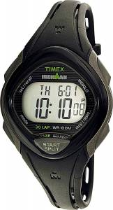 [タイメックス]Timex 腕時計 Black Polyurethane Quartz Sport Watch TW5M10300 レディース