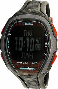 [タイメックス]Timex 腕時計 Black Polyurethane Quartz Sport Watch TW5M08100 メンズ