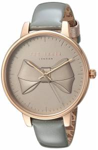 [テッド ベーカー]Ted Baker 'BROOK' Quartz Stainless Steel and Leather Casual TEC0185004
