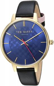 [テッド ベーカー]Ted Baker 'KATE' Quartz Stainless Steel and Leather Casual Watch, TEC0025016