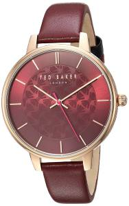[テッド ベーカー]Ted Baker 'KATE' Quartz Stainless Steel and Leather Casual Watch, TEC0025017