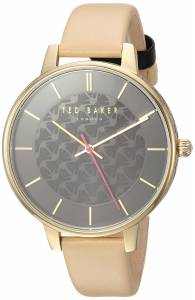 [テッド ベーカー]Ted Baker 'KATE' Quartz Stainless Steel and Leather Casual Watch, TEC0025015