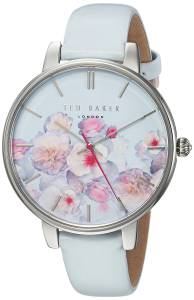 [テッド ベーカー]Ted Baker 'KATE' Quartz Stainless Steel and Leather Casual Watch, TEC0025012