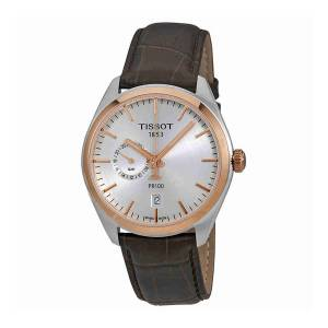 [ティソ]Tissot  PR 100 Gent Dualtime Watch Brown 39mm Stainless Steel T101.452.26.031.00