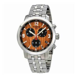 [ティソ]Tissot  PRC 200 Basketball Brown Dial Chronograph Watch T055.417.11.297.01 メンズ