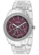 �ե��å��롡���ס�Women's Fossil Estella Purple Dial Watch ES2614