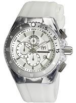 テクノマリーン 時計 TechnoMarine Unisex 110049 Cruise Original Chronograph Silver Dial Watch