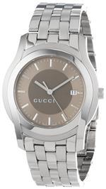グッチ 時計 Gucci Womens YA055215 G Class Medium Brown Matte Dial Watch