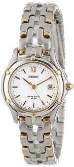 セイコー 時計 Seiko Womens SXE586 Le Grand Sport Two-Tone Watch