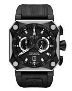 ゾディアック 時計 Zodiac Mens ZO8518 Analog Display Swiss Quartz Black Watch