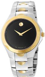 モバード 時計 MODEL 0606381  NEW MOVADO LUNO SPORT MENS QUARTZ GOLD  STEEL WATCH