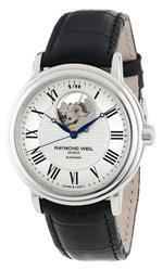 レイモンドウィル 時計 Raymond Weil Mens 2827-STC-00659 Maestro Silver Dial Watch