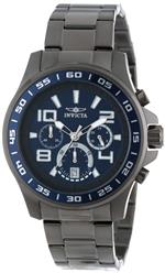 インヴィクタ 時計 Invicta Mens 14394 Specialty Chronograph Blue and Grey Dial Gunmetal Ion Plated<img class='new_mark_img2' src='//img.shop-pro.jp/img/new/icons23.gif' style='border:none;display:inline;margin:0px;padding:0px;width:auto;' />
