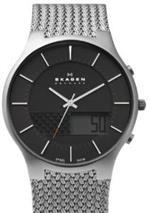 スカーゲン 時計 Skagen Steel Weaved Mesh Watch
