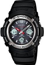 ジーショック 時計 Black Casio G-Shock AWGM100-1A Solar Atomic Watch AWG-M100-1ACR