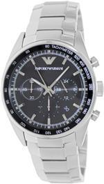 エンポリオアルマーニ 時計 Emporio Armani AR5980 Mens Sportivo Chronograph Silver Watch