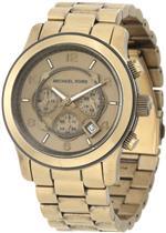 マイケルコース 時計 Michael Kors Mens MK8227 Runway Bronze Tone Stainless Steel Watch