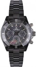 トイウォッチ 時計 Toy Watch LCCS04BK Mavi Ceramic Black MOP Dial Chronograph Large 41mm Diamond Hour