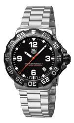 タグ ホイヤー 時計 TAG Heuer Mens WAH1110.BA0858 Formula 1 Black Dial Watch