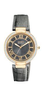 シチズン 時計 Citizen Womens EM0103-06H dOrsay Eco-Drive Rose Gold Tone Watch