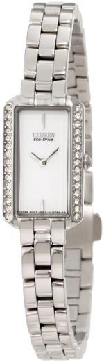 シチズン 時計 Citizen Womens EG2780-59A Eco-Drive Silhouette Crystal Watch